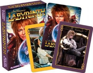 David Bowie Labyrinth  set of 52 playing cards (+ jokers)    nm